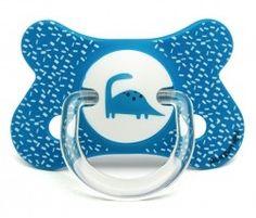 #Sucette total look fusion #Suavinex 4-18 mois dinosaure bleu