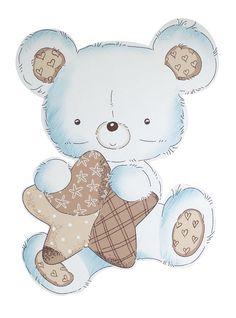 Sticker adesivo THEO Baby Boy Scrapbook, Quilt Baby, Teddy Bear Baby Shower, Baby Boy Shower, Dibujos Baby Shower, Teddy Bear Drawing, Baby Elefant, Cute Cartoon Drawings, Baby Illustration
