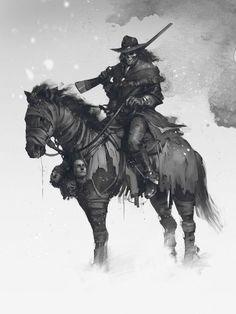 The bounty hunter, Denys Tsiperko