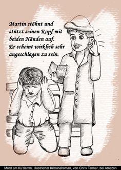 "Erschöpft. ""Mord am Ku'damm"". Illustrierter Kriminalroman. / Depleted. ""Murder on the Kurfürstendamm"". Illustrated detective novel. www.gutenachtgeschichten24.com"