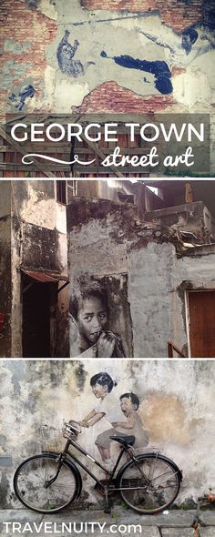 A photo essay of the street art in George Town, Malaysia