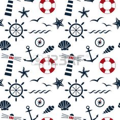 Illustration of abstract lifebuoy symbol on the seamless chevron background vector vector art, clipart and stock vectors. Anchor Wallpaper, Nautical Wallpaper, Paper Background, Background Patterns, Textured Background, Vector Background, Denim Background, Nautical Prints, Nautical Pattern