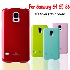 For Samsung Galaxy S5 Case Silicone Colorful GOOSPERY Jelly Gel Case Shiny Soft TPU Cover For Samsung S5 Case S4 S6 Protector