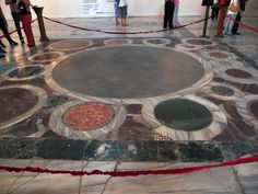 The Omphalion is where the Constantinople Emperors were crowned