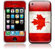 Apple iPhone 3G / 3GS Skin Cover  Old Canadian by stickitskins, $8.95