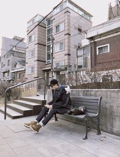 겨울엔 뻥튀기💭  #김데일리 -                #kimnamjoon #rm #namjoon #aesthetic #shy #army #bts #bangtanboys #kpop