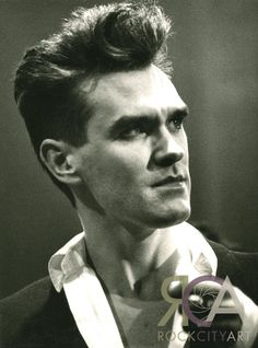#Morrissey by Mark Allan I took this while living in Manchester where I'd been a student. I worked as a volunteer on a programme called 'Actionline' on BBC Radio Manchester and a perk of which was getting in to the Oxford Road Show. It was obviously a good learning experience as I've since made a career out of photographing TV and Radio Music shows.