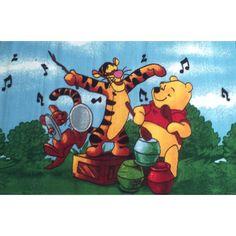 Order Winnie the Pooh Music Kids Rug EasyBuy (Australia) 01 Large