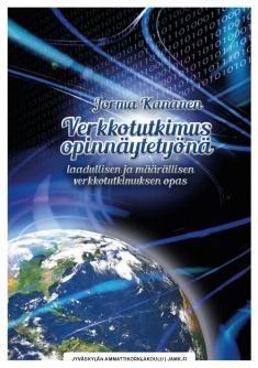 Verkkotutkimus opinnäytetyönä : laadullisen ja määrällisen verkkotutkimuksen opas / Jorma Kananen. Kirjassa käsitellään laadullista ja määrällistä tutkimusta Internetissä. Tutkimustoiminta on siirtynyt verkkoon ihmisten ja yritysten siirtäessä sinne osan toiminnastaan. Verkon välityksellä voidaan tutkia perinteistä fyysistä maailmaa, eli verkosta on tullut tutkimuksen toteuttamisen media (onsite-tutkimus). Toisaalta tutkimuksen kohteena voi olla itse verkkomaailma: mitä ihmiset tekevät…