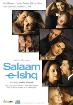 Salaam-e-Ishq: sweet, sad, dramatic and funny. Super long...and I loved every dang minute of it!!!