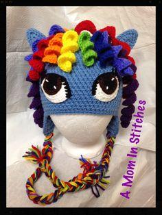 Rainbow Dash MLP Hat