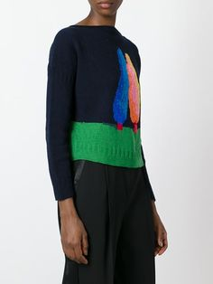 April Chrichton & Nicholas Party limited edition 'Two Tress' jumper