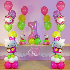 Hello Kitty - Allestimenti con palloncini - Melusina