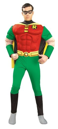 Batman 1966 Robin Cosplay Costume Yellow Cape Green Jumpsuit Cos Party Clothing
