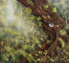 Carol Theologo Art Forest Light, Old Trees, Art Competitions, Walk In The Woods, Asia, Landscape, Gallery, Artist, Twists