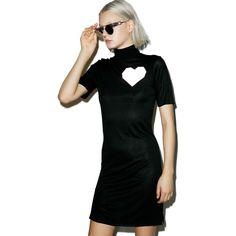 ESQAPE Lov T Turtleneck Dress ($68) ❤ liked on Polyvore featuring dresses, short sleeve dress, turtle neck dress, pocket dress, polo neck dress and turtleneck dress