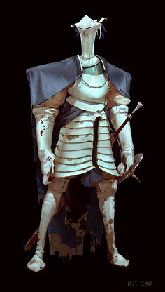 ArtStation - White knight, Mikhail Rakhmatullin