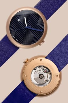 Objest Men's watches:  Automatic watches Designed in London, crafted by Swiss artisan watchmakers. Featuring An ETA 2824-2 automatic movement, double domed Sapphire crystal, luxurious Italian leather straps and a bespoke rotor design. Designed in London, Swiss made. Objest.com
