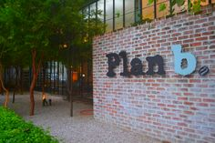 In front of Plan B