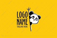 Logo for sale: Panda Logo A cute panda logo suitable for a wide range of businesses especially restaurants.