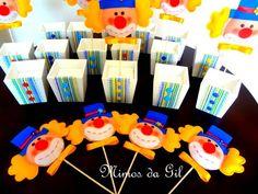 Centro de mesa festa Circo