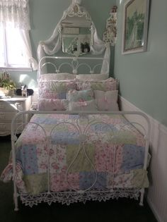 My Shabby Chic Quilt just purchased at Target!!!