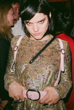 Vogue says: neogoth is having a moment. Soko. The Vogue Edit.