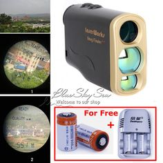 Free Shipping!1000M Waterproof Laser Rangefinder Telescope Distance Speed Measurement for Outdoor Hunting Golf | #GolfAccessories #GolfCart #GolfRangeFinder