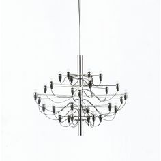 Mid-Century Modern Reproduction 2097 Chandelier Inspired by Gino Sarfatti