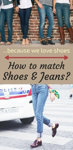 How To Match Shoes And Jeans? - myFashionTips.net