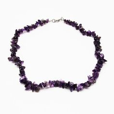 Amethyst Stone Necklace.