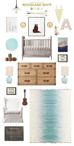 woodland white - Lay Baby Lay