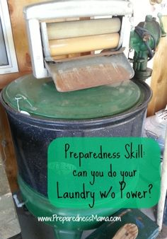 Preparedness Skill: Washing Laundry Without Electricity | PreparednessMama
