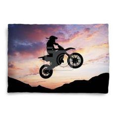 Motocross Pillow Cases
