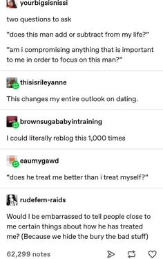 Also ask that question about female significant others as well, toxic people exist in both genders, my dears Life Advice, Relationship Advice, Relationships, Relationship Tattoos, Communication Relationship, Relationship Questions, Relationship Building, Things To Know, Things To Think About