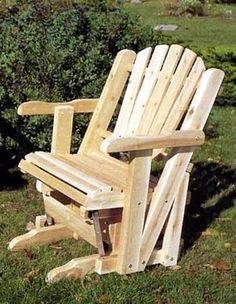 Rustic Cedar Furniture Pacific Glider 30 W X 35 H 60 Lbs