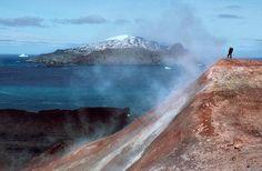 Volcanoes Helped Antarctic Life Weather Ice Ages - NBC News