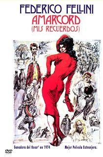 Carteles del cinema: 1974 - AMARCORD (MIS RECUERDOS) - Amarcord - Federico Fellini