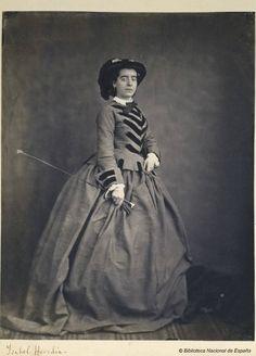 Isabel Heredia, 1860 civil war fashion riding habit