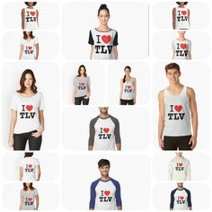 New i heart Tel Aviv hoodies, pullovers, T-shirts, mini skirts, tank tops and leggings are now part of the Tel Aviv memorabilia showcase. #dldtelaviv #israel #telaviv