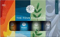 Woolzies The Four Elements Essential Oil Collection Set of 4 | Include | NineLife - Singapore