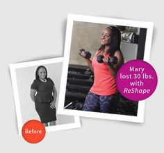 """On March 3, 2016, I began my weight loss journey with ReShape. After just six months, I have lost 30 pounds and my BMI is now at 28."" -Mary, patient of New York Bariatric Group and ReShape Success Story Contest Winner  Congratulations Mary, on achieving your health goals! We are thrilled to have been at your side as you've become a healthier you!  All the best, Your team at NYBG   Interested in ReShape? Visit…"
