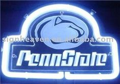 Penn State neon bar sign!