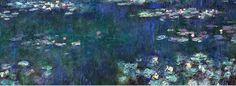 """Riflessi verdi""- Monet"