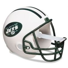 New York Jets NFL helmet scotch tape dispenser from 3M for your home and office. Great gift idea!