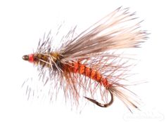 Stimulator, Orange - Designed to imitate a stonefly, hopper, or caddisfly, the Orange Stimulator has proven itself to work in a variety of dry fly fishing situations. #dryfly #attractor #flyfishing