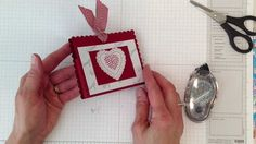 Very Valentine Treat Holder Stampingwithamore.com