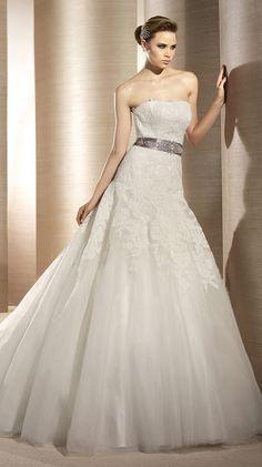 Atelier Diagonal Bridal Gown Style - Orion