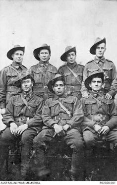 It's estimated that approximately 1,000 Indigenous soldiers fought in World War I.