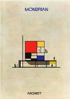 les buildings de Federico Babina